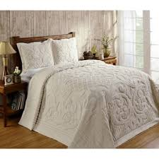 Quilts & Bedspreads For Less | Overstock.com & Ashton 100-percent Cotton Chenille Super Soft and Plush Bedspread Adamdwight.com
