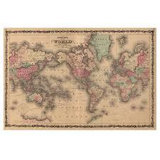 vintage world map poster 24