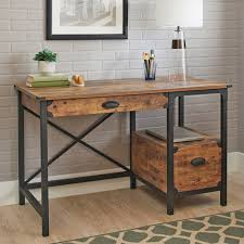 better homes and gardens rustic country desk weathered pine finish com
