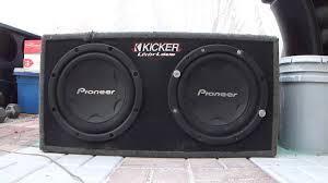 pioneer speakers subwoofer. pioneer speakers subwoofer c