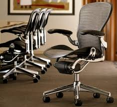 miller office chair. brilliant office herman miller aeron office chair profile view and