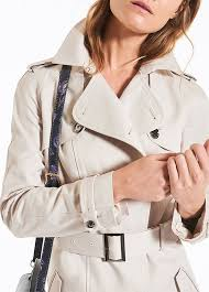 willow double ted trench coat