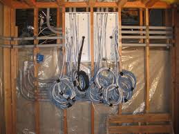 residential structured wiring vast automation conduits into box