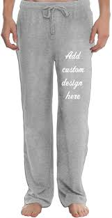 Design Own Sweatpants Custom Pant Mens Sweatpants Mens Elastic Waist Casual