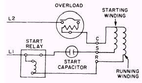 start capacitor wiring diagram start capacitor relay \u2022 free wiring capacitor start capacitor run induction motor with neat diagrams at Motor Wiring Diagram Single Phase With Capacitor