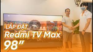 Smart Tivi Xiaomi Redmi TV MAX 98 inch Mẫu 2020