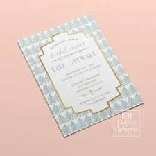 Bridal Shower Template Fascinating Art Deco Bridal Shower Invitation Template Gold Foil Bridal Etsy