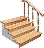 house stairs clipart. Contemporary House Wooden Ladder Wooden Stairs In House Stairs Clipart C
