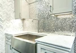 glass kitchen backsplash ideas tiles dark cabinets modern subway white