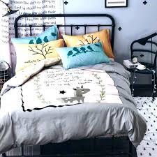 100 percent cotton crib bedding sets quilt duvet covers queen cartoon fox dog parrot set twin