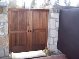 Surprising Double Wooden Garden Gates 58 With Additional Online