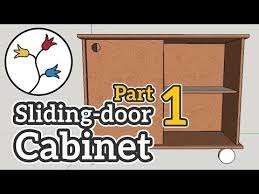 cabinet with sliding doors part