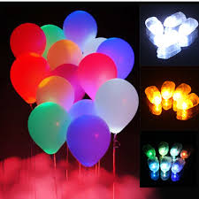 10pcs Led Balloon Lights Lamps Paper Lanterns Lamp Home Wedding