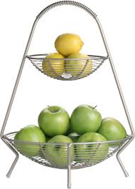 twotier fruit basket in food containers storage  crate and
