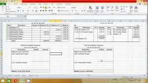 Bank Reconciliation Excel Format How To Prepare Bank Reconciliation Statement In Excel Spread Sheet Samir