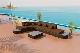 viro wicker usa. Delighful Viro IONE Island Round VIRO Outdoor Wicker Sectional Sofa Set By Las Vegas Patio Inside Viro Usa I