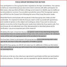 Focus Group Consent Form Template - Evpatoria.info