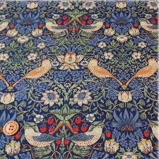 moda william morris fabric 110 cm x 50 cm 8176 44 of best of morris and strawberry thief william morris strawberry thief martic blue