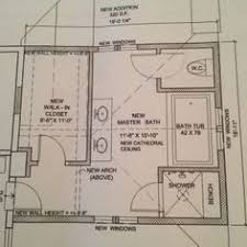 Master Bath Floor Plan Except I See No Need For His Her Sinks I