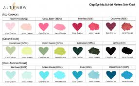 Leaf Color Chart For Sale Video Giveaway Sale Easy Color Blending W Altenew Artist