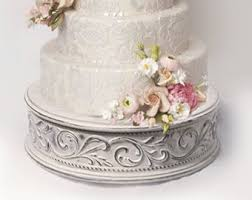 Vintage wedding cake stand for shabby chic weddings size 17