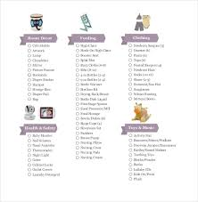 Newborn Baby Checklist Printable Shared By Mohamed Scalsys