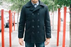 schott s classic 32oz wool pea coat