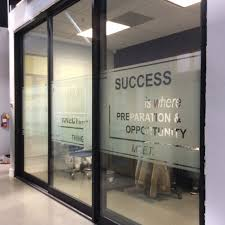 Frosted Glass Design For Office In Los Angeles Window Tint Z