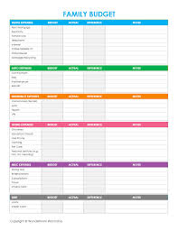 Free Family Budgeting Worksheets Free Printable Family Budget Worksheets Freebies Deals Steals