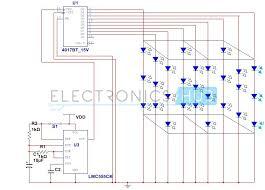understanding of jk flip flop using cd circuit 3x3x3 led cube circuit