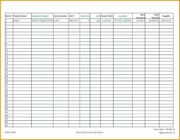 Stock Inventory Control Templates Doc Free Premium Template
