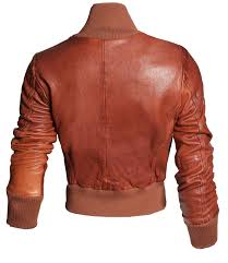 official miss top leather jacket