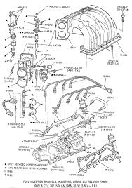 1985 f series 302 w efi gary's garagemahal (the bullnose bible) 97 Ford 4.6 Engine Diagram 1985 f series 302 w efi � 1985 87 bronco � 1985 on f series � fuel system part 's