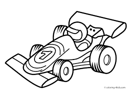 Small Picture New Race Car Coloring Page 81 For Coloring Pages Online with Race