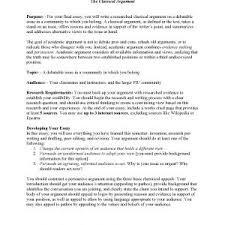 an example of a argumentative essay pages example argumentative  cover letter example of argumentative essay classical argument unit assignmentpageargumentative research essay example an example