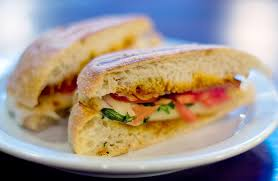 paninis kent ohio caprese panini with sun dried tomato mayo