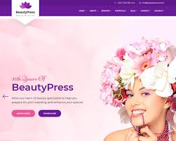 Hair Saloon Websites 20 Best Beauty Salon And Spa Website Templates 2018 Templatemag