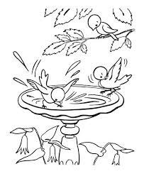 Free Spring Coloring Sheets Baby Bird Coloring Pages Lovely Free