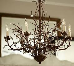 new 61 best chandeliers images on chandeliers birdcage for pottery barn antler chandelier