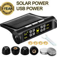 Tire Accessories LCD <b>Solar TPMS</b> Wireless Car <b>Tire Pressure</b> ...