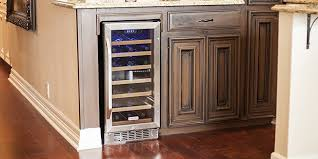 built in wine cabinet. Plain Cabinet EdgeStar 30 Bottle BuiltIn Wine Cooler  Stainless SteelBlack In Built Cabinet O