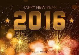 happy new year 2016. Wonderful New Happy New Year 2016 On P