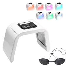 Led Light Therapy Machine Amazon Com Lucky Star Zly 7 Colors Pdt Led Light Therapy