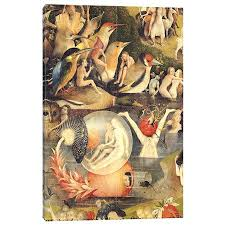 garden of earthly delights poster. Hieronymus Bosch The Garden Of Earthly Delights Poster Allegory Luxury . B
