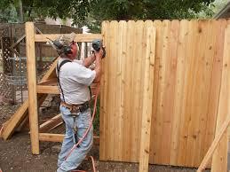 Concrete For Fence Post Installation Cedar Supply