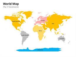 Powerpoint World World Map