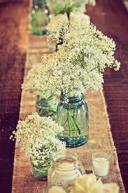 Blue Mason Jars Wedding Decor Wedding Decor Ideas Featuring The Beloved Mason Jar crazyforus 82