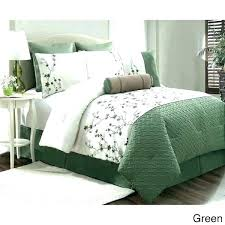 green king size bedding sage comforter sets with and white remodel lime awesome hunter