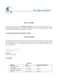 Utas Organisational Chart Agenda Council Meeting 24 June 2019 By Devonport City