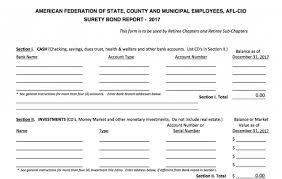 surety bond form surety bond form for retiree chapters treasurer online